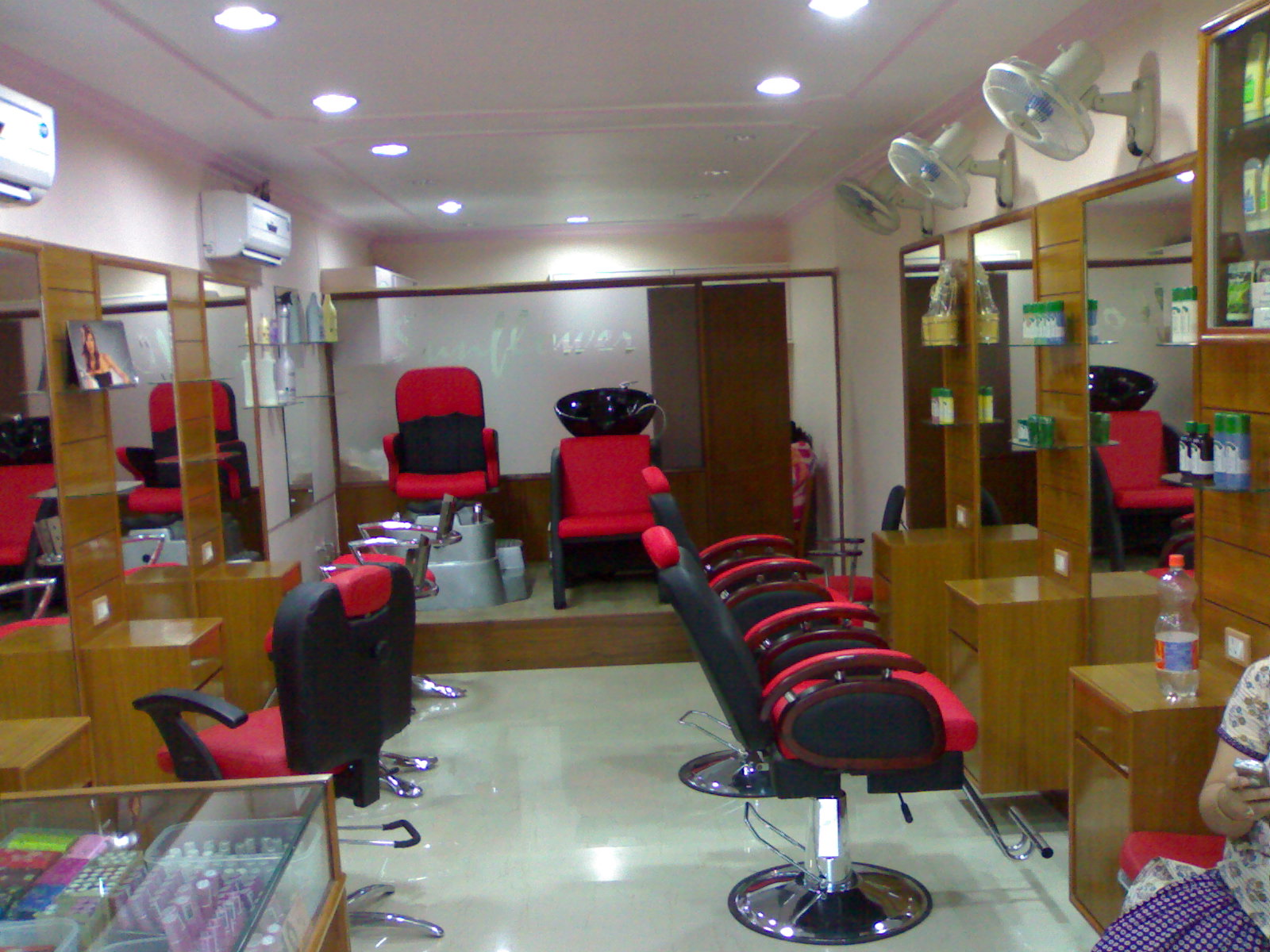 interior of Sunflower Salon